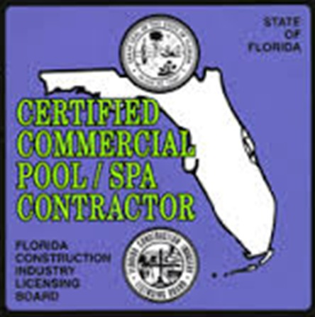 Certified Commercial Pool Spa Contractor