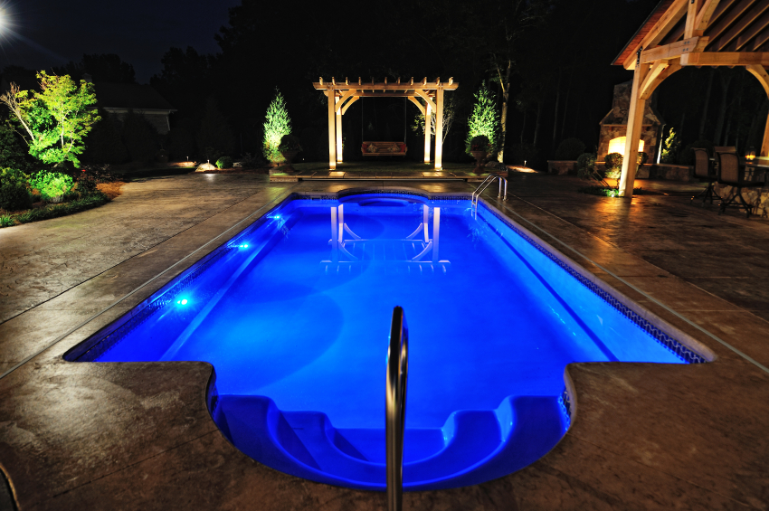 Pool LED Lighting Installed